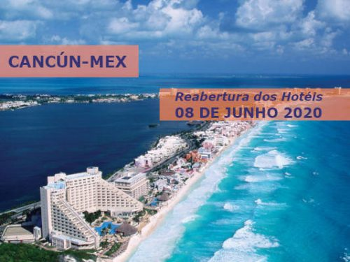 Cancun reabre depois de 08 de Junho . Turismo